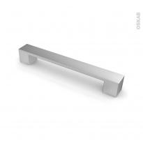 Poignée de meuble - de cuisine N°4 - Vernis alu mat - 19,5 cm - Entraxe 160 mm - SOKLEO