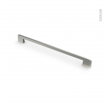 Poignée de meuble - de cuisine N°13 - Inox brossé - 29,6 cm - Entraxe 288 mm - SOKLEO