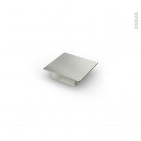 Poignée de meuble - de salle de bains N°14 - Inox brossé - 7,3 cm - Entraxe 32 mm - HAKEO