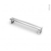 Poignée de meuble - de cuisine N°1 - Chromé - 17 cm - Entraxe 160 mm - SOKLEO