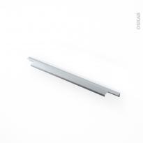 Poignée de meuble - Salle de bains N°37 - Inox brossé - 40 cm - Entraxe 160 mm - HAKEO