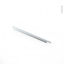 Poignée de meuble - de cuisine N°37 - Inox brossé - 60 cm - Entraxe 192 mm - SOKLEO