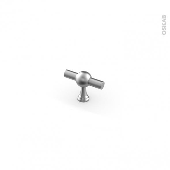 Poignée de meuble - de cuisine N°55 - Inox brossé - 4,6 cm - SOKLEO