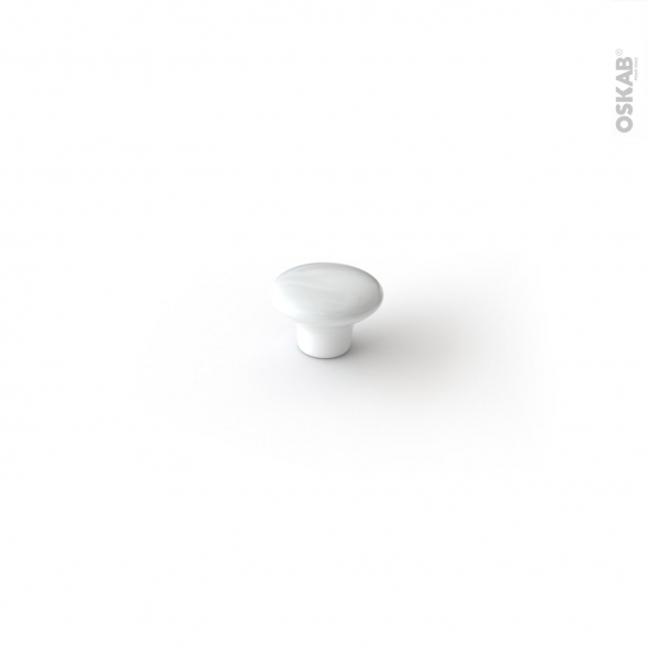 Poignée de meuble - de salle de bains N°88 - Céramique - 3,8 cm - HAKEO