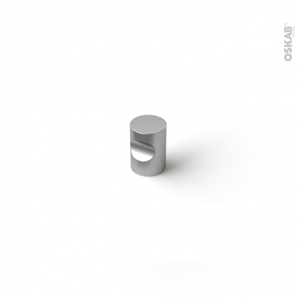 Poignée de meuble - de cuisine N°63 - Inox brossé - 1,6cm - SOKLEO