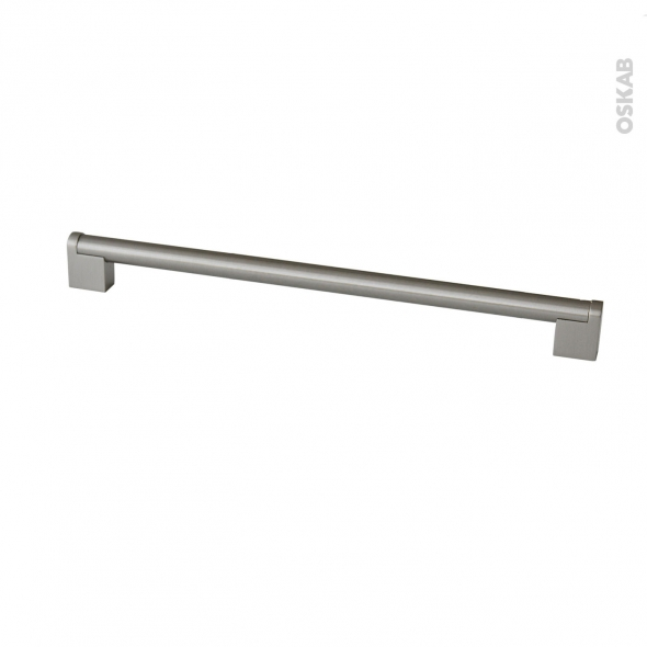 SOKLEO - Poignée de cuisine N°38 - Inox brossé -  44,7cm - Entraxe 419