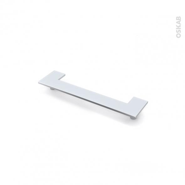 Poignée de meuble - de cuisine N°30 - Chromé brillant - 14,8 cm - Entraxe 128 mm - SOKLEO