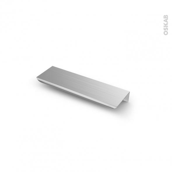 Poignée de meuble - de cuisine N°11 - Inox brossé - 13,2 cm - Entraxe 96 mm - SOKLEO
