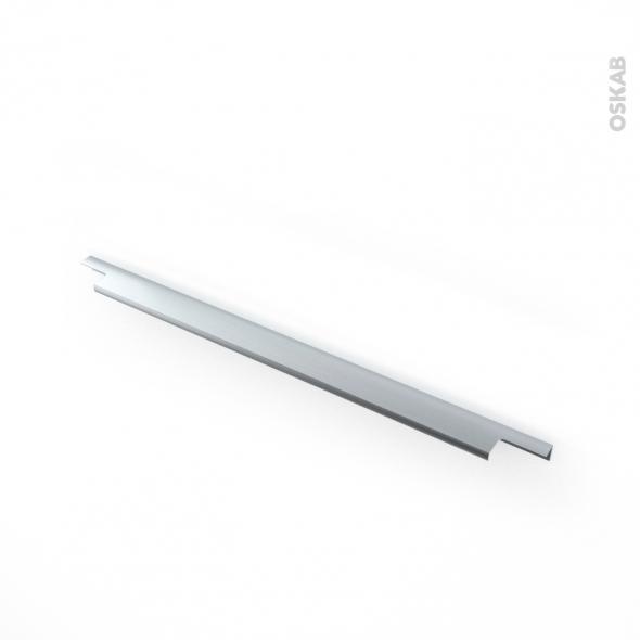 Poignée de meuble - de cuisine N°37 - Inox brossé - 50 cm - Entraxe 192 mm - SOKLEO