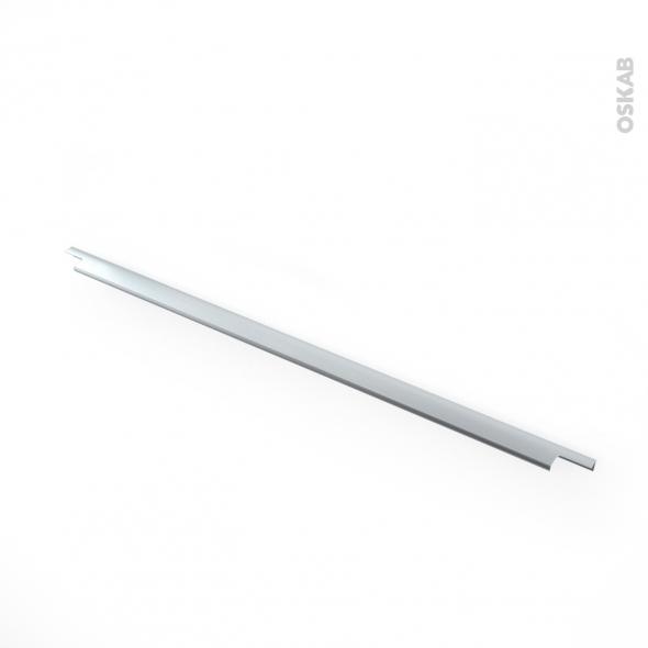 Poignée de meuble - de cuisine N°37 - Inox Brossé - 80 cm - Entraxe 224 mm - SOKLEO