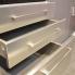 #Poignée de meuble - de cuisine N°13 - Inox brossé - 20,6 cm - Entraxe 160 mm - SOKLEO