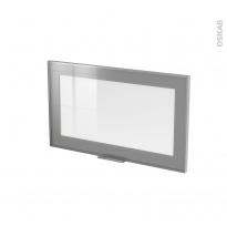 SOKLEO - Façade alu vitrée - Porte N°10 - L60xH35