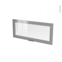 SOKLEO - Façade alu vitrée - Porte N°11 - L80xH35