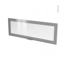 SOKLEO - Façade alu vitrée - Porte N°12 - L100xH35