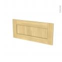 BASILIT Bois Brut - face tiroir N°11 - L80xH35