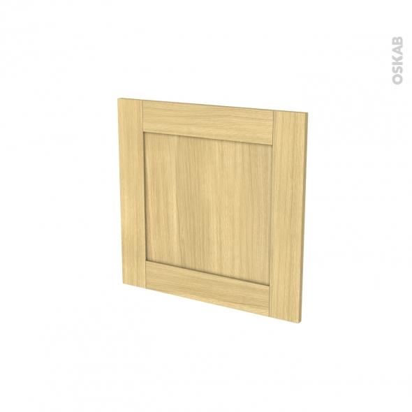 BASILIT Bois brut - Porte N°16 - Lave vaisselle intégrable - L60xH57