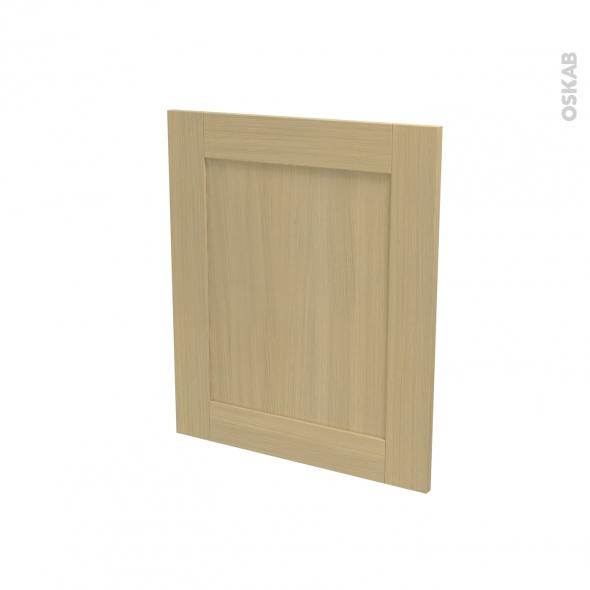 BASILIT Bois verni - Porte N°21 - Lave vaisselle full intégrable - L60xH70