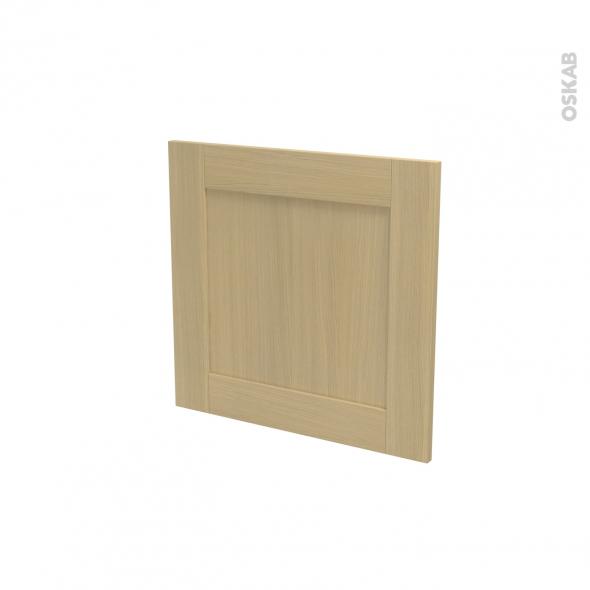 BASILIT Bois verni - Porte N°16 - Lave vaisselle intégrable - L60xH57