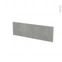 Façades de cuisine - Face tiroir N°39 - FAKTO Béton - L80 x H25 cm