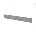 Façades de cuisine - Face tiroir N°43 - FAKTO Béton - L100 x H13 cm
