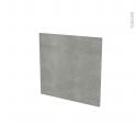 Façades de cuisine - Porte N°16 - FAKTO Béton - L60 x H57 cm