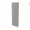 Façades de cuisine - Porte N°26 - FAKTO Béton - L40 x H125 cm