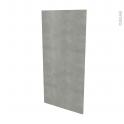 Façades de cuisine - Porte N°27 - FAKTO Béton - L60 x H125 cm