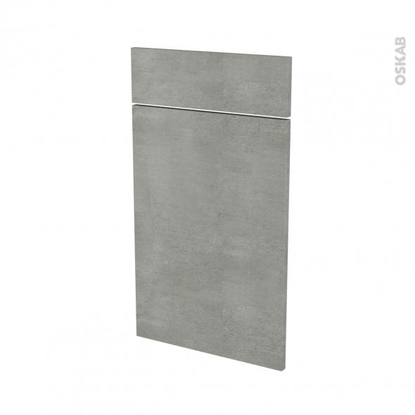 FAKTO Béton - façade N°51 1 porte 1 tiroir - L40xH70