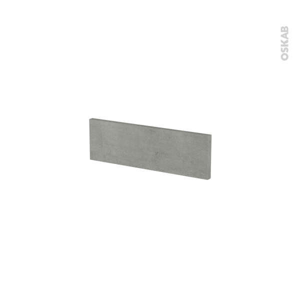 Façades de cuisine - Face tiroir N°1 - FAKTO Béton - L40 x H13 cm