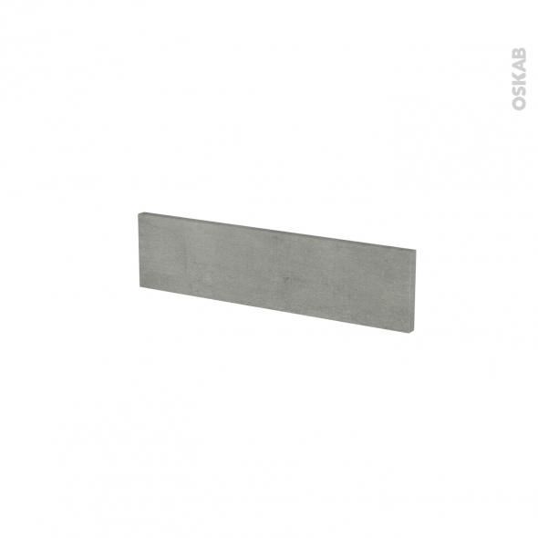 Façades de cuisine - Face tiroir N°2 - FAKTO Béton - L50 x H13 cm