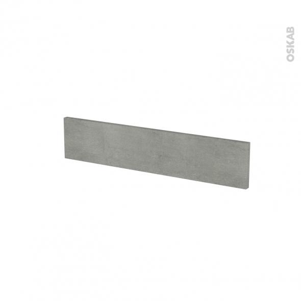 Façades de cuisine - Face tiroir N°3 - FAKTO Béton - L60 x H13 cm
