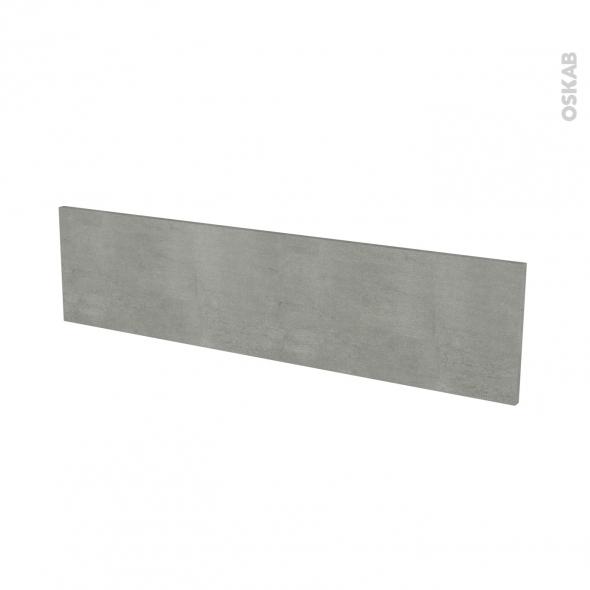 Façades de cuisine - Face tiroir N°41 - FAKTO Béton - L100 x H25 cm