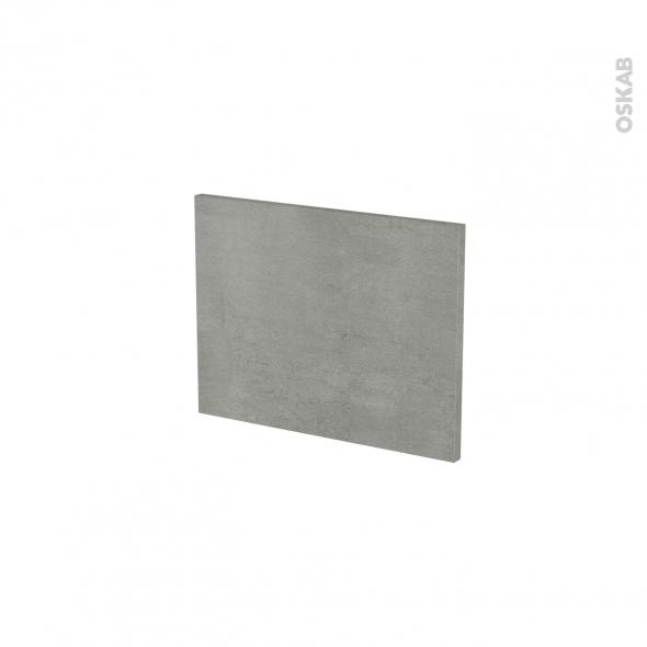 Façades de cuisine - Face tiroir N°6 - FAKTO Béton - L40 x H31 cm