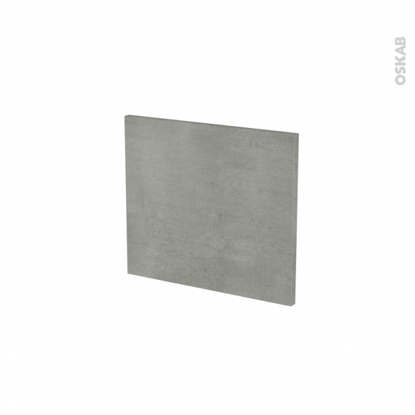 Façades de cuisine - Face tiroir N°9 - FAKTO Béton - L40 x H35 cm