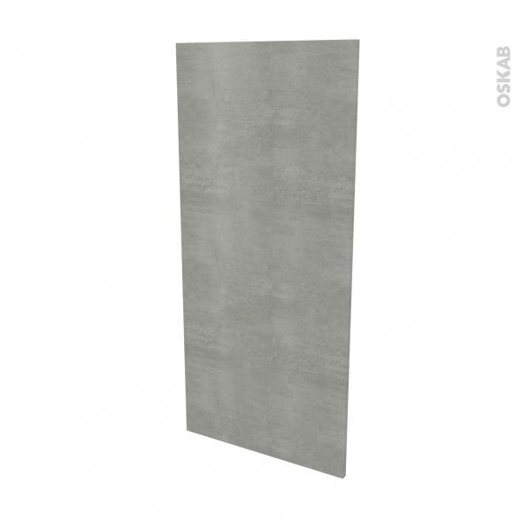 Finition cuisine - Joue N°33 - FAKTO Béton - L58 x H125 cm