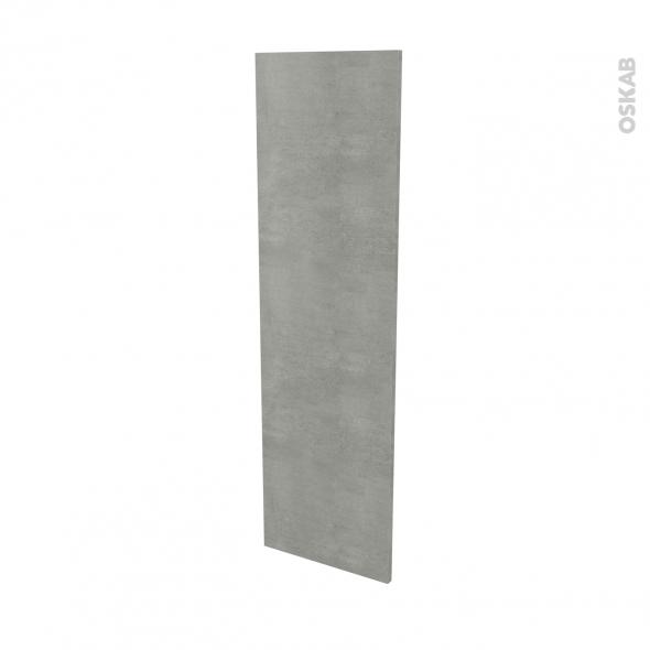 Finition cuisine - Joue N°34 - FAKTO Béton - L37 x H125 cm