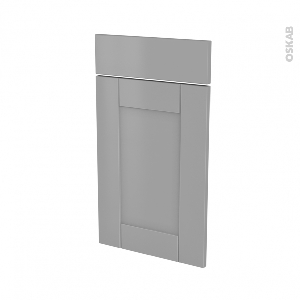FILIPEN Gris - façade N°51 1 porte 1 tiroir - L40xH70