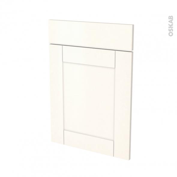 Façades de cuisine - 1 porte 1 tiroir N°54 - FILIPEN Ivoire - L50 x H70 cm