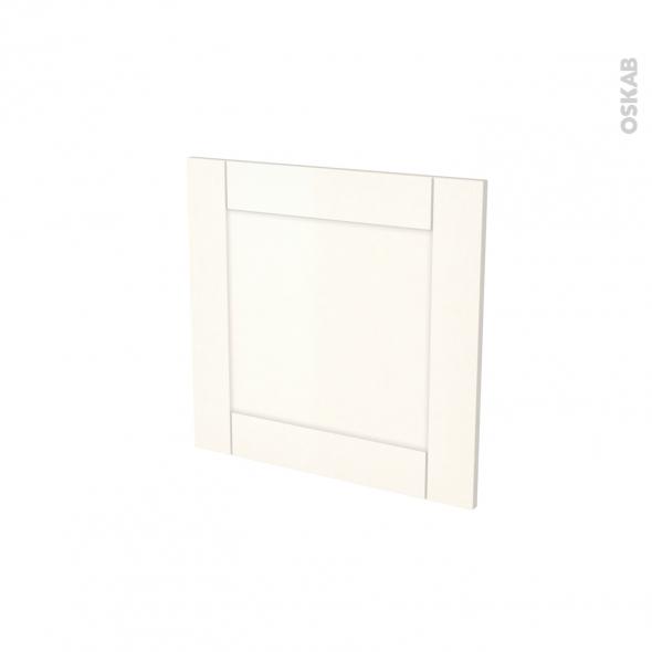 Porte lave vaisselle - Intégrable N°16 - FILIPEN Ivoire - L60 x H57 cm