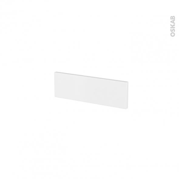 Façades de cuisine - Face tiroir N°1 - GINKO Blanc - L40 x H13 cm