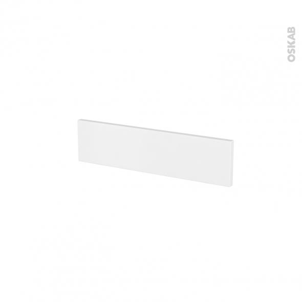 Façades de cuisine - Face tiroir N°2 - GINKO Blanc - L50 x H13 cm