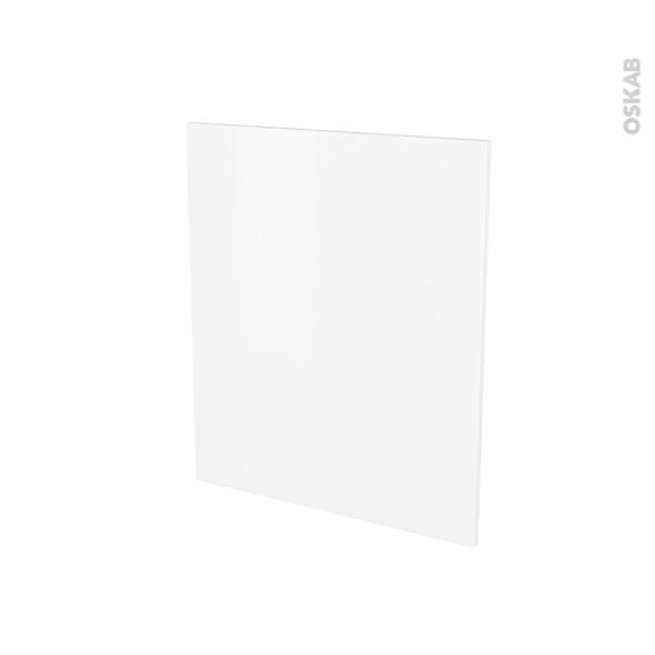 Porte lave linge - à repercer N°21 - GINKO Blanc - L60 x H70 cm