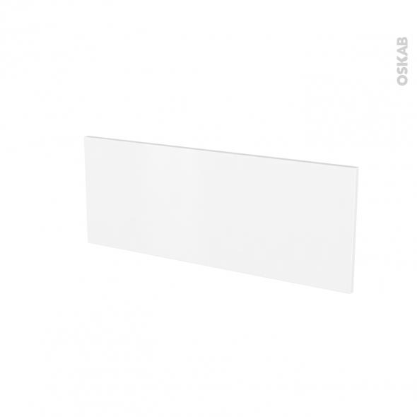Façades de cuisine - Face tiroir N°38 - GINKO Blanc - L80 x H31 cm