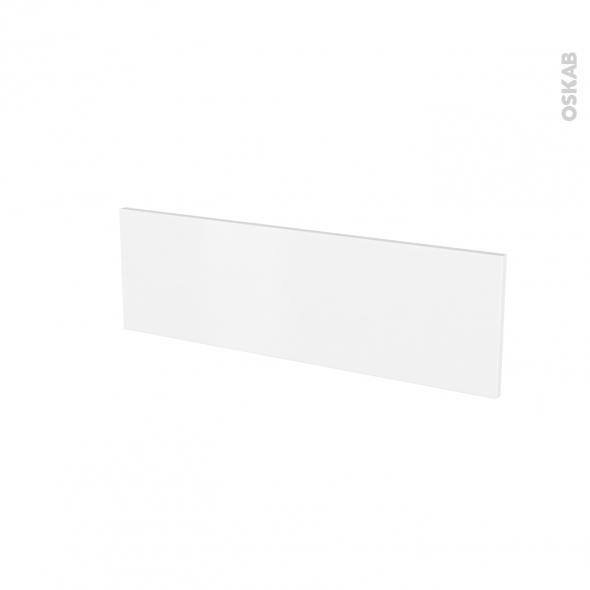 Façades de cuisine - Face tiroir N°39 - GINKO Blanc - L80 x H25 cm