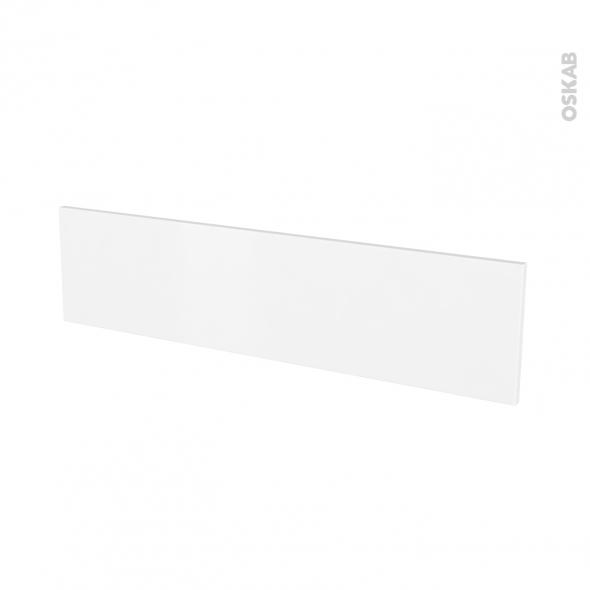 Façades de cuisine - Face tiroir N°41 - GINKO Blanc - L100 x H25 cm