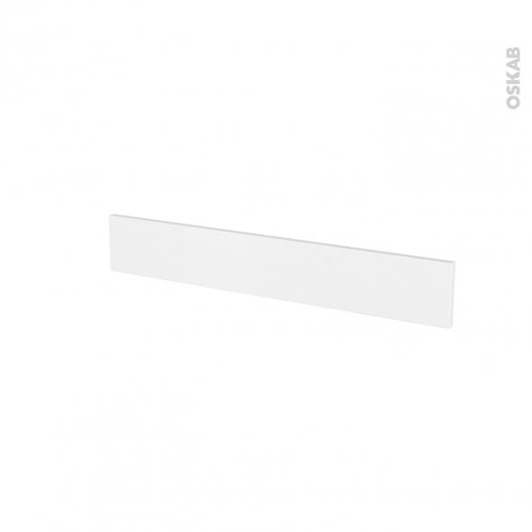 Façades de cuisine - Face tiroir N°42 - GINKO Blanc - L80 x H13 cm