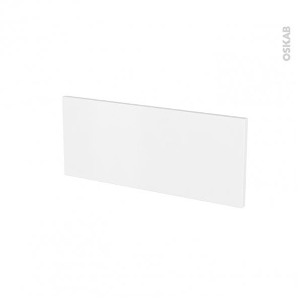 Façades de cuisine - Face tiroir N°5 - GINKO Blanc - L60 x H25 cm