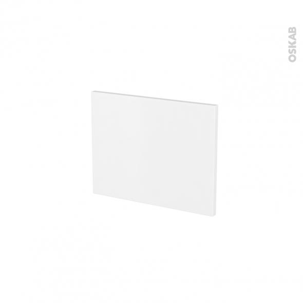 Façades de cuisine - Face tiroir N°6 - GINKO Blanc - L40 x H31 cm