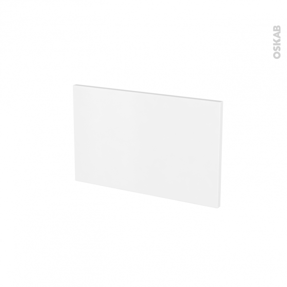 Façades de cuisine - Face tiroir N°7 - GINKO Blanc - L50 x H31 cm