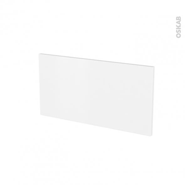 Façades de cuisine - Face tiroir N°8 - GINKO Blanc - L60 x H31 cm